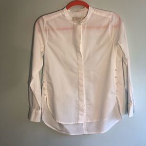 LOFT Basic fabulous long sleeved white shirt XP